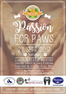 Pure Paarl - Passion for paws flyer - 100817 - final web